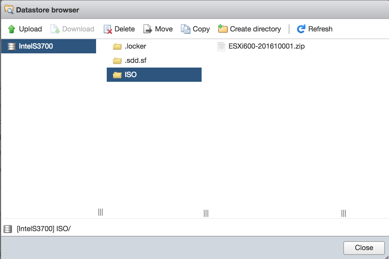 patch vmware esxi hosts by command line